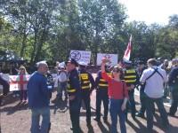 Антиакция националистов. ЕКПГ. 9 мая, 2018. Тбилиси 2
