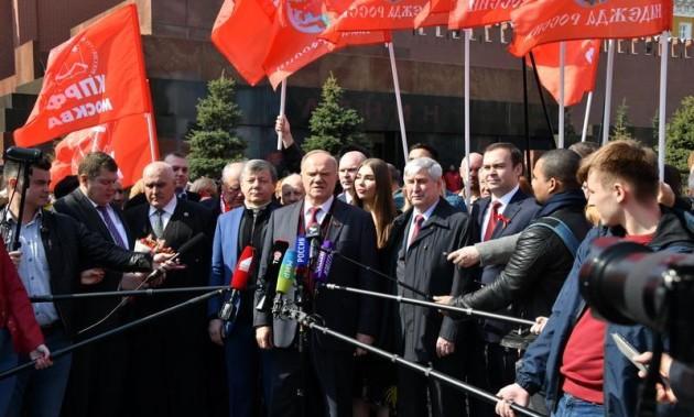Новости КПРФ. Г.А. Зюганов: «Ленин – это Великий Октябрь, Великая индустриализация, Великая Победа»
