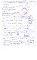 3 подписи