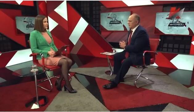Новости КПРФ. Интервью Г.А. Зюганова телеканалу «Красная Линия» по итогам выборов главы Хакасии