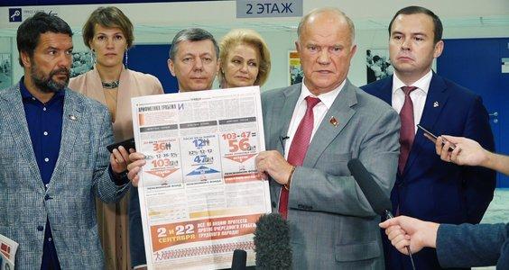 Новости КПРФ. Геннадий Зюганов прокомментировал обращение Президента к народу