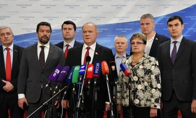 Новости КПРФ. Г.А. Зюганов: «Эта информационная война связана ложью, клеветой, насилием и всякими подтасовками»