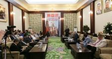 К.К. Тайсаев провел в Посольстве КНДР в РФ заседание Круглого стола, посвященного итогам 7-го съезда Трудовой партии Кореи