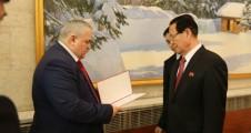 Новости КПРФ. К.К. Тайсаев принял участие в приеме в Посольстве КНДР, организованном по случаю 75-летия со дня рождения Ким Чен Ира