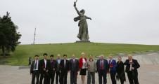 К.К. Тайсаев отметил высокий уровень организации круглого стола, прошедшего в Городе-Герое Сталинграде