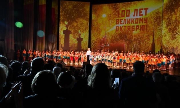Новости КПРФ. Будущее – за социализмом! В городе трех революций прошли юбилейные мероприятия, посвященные 100-летию Октября
