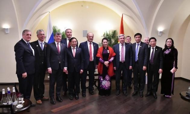 Новости КПРФ. Г.А. Зюганов встретился с делегацией Коммунистической партии Вьетнама
