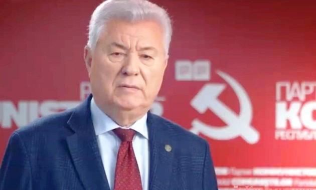 Новости ПКРМ. Поздравление Зюганову Г.А от Воронина В.Н