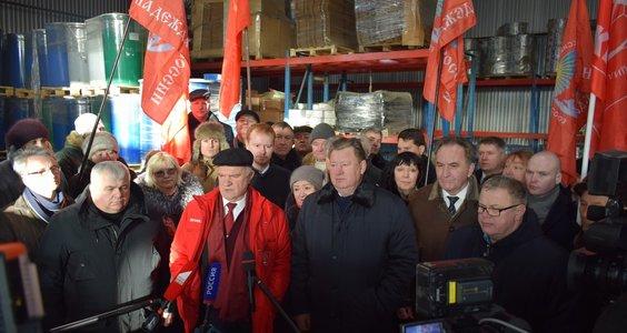 Новости КПРФ. 78-й гуманитарный конвой отправлен для бойцов Новороссии