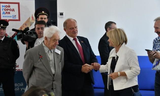 Новости КПРФ. Г.А. Зюганов: «Я надеюсь, что выборы нам помогут выйти на дорогу устойчивого развития»