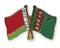 Freundschaftspins-Belarus-Turkmenistan