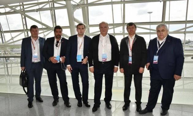 Новости КПРФ. Г.А. Зюганов посетил церемонию открытия XIX Всемирного фестиваля молодежи и студентов