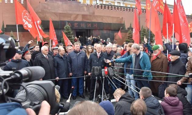 Новости КПРФ. Г.А. Зюганов: Мир будет уверенно смотреть вперед, если пойдет по пути Ленина