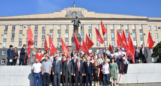 Новости КПРФ. Г.А. Зюганов принял участие в праздничных мероприятиях, посвященных Дню города Орла